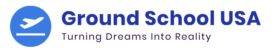 Ground School USA/ Online Ground School Logo
